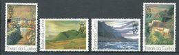 239 TRISTAN DA CUNHA 1976 - Yvert 208/11 - Tableau Paysage Peinture - Neuf **(MNH) Sans Trace De Charniere - Tristan Da Cunha