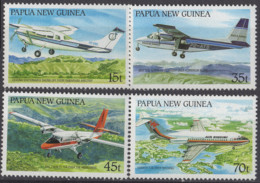 PAPOUASIE NOUVELLE GUINEE - Avions 1987 - Papouasie-Nouvelle-Guinée