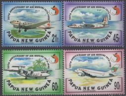 PAPOUASIE NOUVELLE GUINEE - Avions 1993 - Papouasie-Nouvelle-Guinée