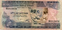 ETHIOPIA-50 BIRR 1991 P-44 - Ethiopie