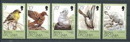 239 TRISTAN DA CUNHA 1988 - Yvert 419/23 - Oiseau Phoque - Neuf **(MNH) Sans Trace De Charniere - Tristan Da Cunha