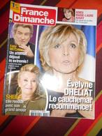 2017 FRANCE DIMANCHE  N° 3695  Avec SHEILA , EDDY MITCHELL, Charl. GAINSBOURG, CRISTINA CORDULA... ...... - People
