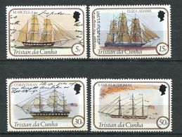 239 TRISTAN DA CUNHA 1982 - Yvert 300/09 - Bateau Voile - Neuf **(MNH) Sans Trace De Charniere - Tristan Da Cunha