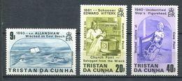 239 TRISTAN DA CUNHA 1986 - Yvert 389/91 - Naufrage Figurine De Proue - Neuf **(MNH) Sans Trace De Charniere - Tristan Da Cunha