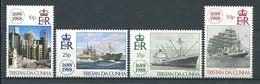 239 TRISTAN DA CUNHA 1988 - Yvert 432/35 - Lloyd Bateau Voilier - Neuf **(MNH) Sans Trace De Charniere - Tristan Da Cunha