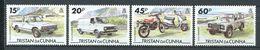 239 TRISTAN DA CUNHA 1995 - Yvert 548/51 - Automobile Motocyclette - Neuf **(MNH) Sans Trace De Charniere - Tristan Da Cunha