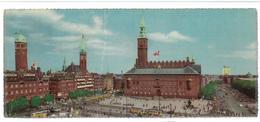 Danimarca Copenaghen The Town Hall Dimensioni Cm 9X21 Viaggiata 1959 - Danimarca