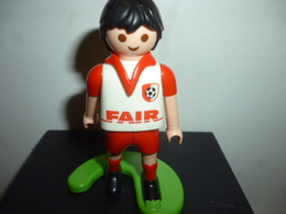 DG053 - Figurine Footballeur Maillot Blanc N°13 / Playmobil - Playmobil