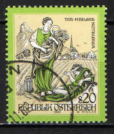 AUSTRIA - 1999 - STORIE E LEGGENDE: SANTA NOTBURG - USATO - 1945-.... 2a Repubblica