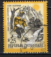 AUSTRIA - 1998 - STORIE E LEGGENDE: SAN CORRADO DI ALTEMS - USATO - 1945-.... 2a Repubblica