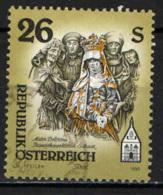 AUSTRIA - 1995 - MONASTERO FRANCESCANO DI SCHWAZ - MADONNA ADDOLORATA - USATO - 1945-.... 2a Repubblica