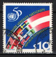 AUSTRIA - 1995 - CINQUNATENARIO DELL'ONU - USATO - 1945-.... 2a Repubblica