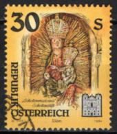 AUSTRIA - 1994 - CONVENTO SCOZZESE DI VIENNA: MADONNA CON BAMBINO - USATO - 1945-.... 2a Repubblica
