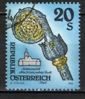 AUSTRIA - 1993 - MAZZA DI HARTMANN - USATO - 1945-.... 2a Repubblica