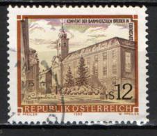 AUSTRIA - 1992 - CONVENTO DEI FATEBENFRATELLI DI ESIENSTADT - USATO - 1945-.... 2a Repubblica