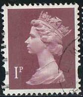 GB 1993 Yv. N°1683 - 1p Grenat - Oblitéré - Machin-Ausgaben