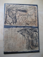 2 Künstlerkarten Osiris Fest 1896 Berlin (2403) - Ohne Zuordnung