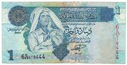 LIBIA 1 DINAR 2004 P-68 - Libia