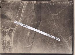 RAVIN DU MARTINET - TRACY LE MONT  GUERRE 14/18  1918 - Photo Aérienne Des Lieux De Combats ( Oise ) - Plaatsen