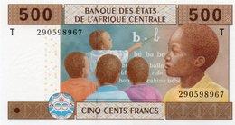 CONGO 500 FRANCS 2002  P-106 Ta  UNC - Congo