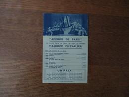"""MAURICE CHEVALLIER """"AMOURS DE PARIS"""" LA NOUVELLE REVUE DU CASINO DE PARIS PARNASSE LE DISQUE DES SUCCES - Musique & Instruments"""