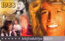 TARJETA TELEFONICA DE HUNGRIA. ANDY GIBB, HU-P-2003-31. (011) - Música