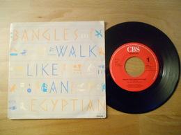 Bangles - Walk Like An Egyptian - Cbs 1985 - 45 T - Maxi-Single