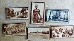 Chocolat Suchard - Collection Coloniale - 60 Vignettes Publicitaires - AFRIQUE ASIE - Scène Type Paysage Lieux.... - Cioccolato