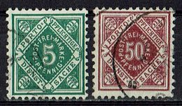 Württemberg 1906 // Mi. 114,118 O Dienst (029..962) - Wurtemberg