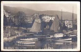Croatia Opatija Abbazia 1912 / Villen Am Hafen / Port, Boats / Tomasic 12 - Kroatië