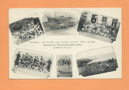 CPA - Fort Mahon : 1928 - Carolles :1929- Carteret :1930-1931 - Calais :1932-1933- Colonie De Vacances Saint De Dreux - Dreux