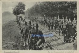 Wehrmacht ✙ Auf Einer Vormarschstraße In Feindesland - Weltkrieg 1939-45