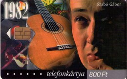 TARJETA TELEFONICA DE HUNGRIA. SZABÓ GÁBOR, HU-P-2002-56. (024) - Música