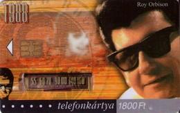 TARJETA TELEFONICA DE HUNGRIA. ROY ORBISON, HU-P-2003-36. (021) - Música