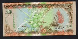MALDIVE : 10  Rufiaa - 2006- UNC - Maldive