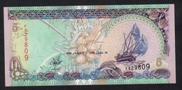 MALDIVE : 5 Rufiaa - 2000- UNC - Maldives