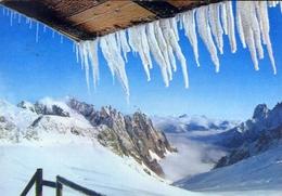 Courmayeur - Aigf Du Chamonix - Aig Du Dru - Aig Verte - Viste Da Punta Helbronner - Formato Grande Viaggiata – E 8 - Aosta