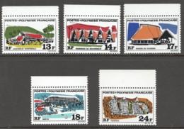 1969  Maisons Et édifices Yv 72+6  ** - Neufs