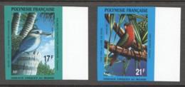 Non-dentelés  1991  Oiseaux Uniques Au Monde  Yv 383-4  ** - Geschnitten, Drukprobe Und Abarten