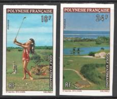 Non-dentelés  1974  Golf D'Atimaono  Yv 94-5  ** - Geschnitten, Drukprobe Und Abarten
