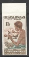 Non Dentelé  1958  Graveur Sur Nacre  PA I ** - Imperforates, Proofs & Errors