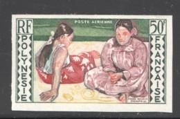 Non Dentelé 1958  Gauguin  Tahitiennes  PA 2  ** - Imperforates, Proofs & Errors