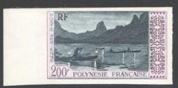 Non Dentelés 1958  Pêche De Nuit à Moorea  PA 4  ** - Imperforates, Proofs & Errors