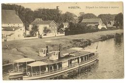 4 -Herstal - Départ Des Bâteaux à Vapeur - Herstal