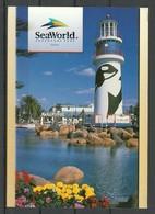 USA Post Card FLORIDA Sea World Adventure Park Orlando Sent 2000 From Germany With Stamp - Etats-Unis