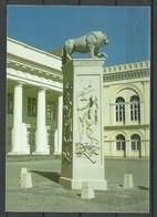 Deutschland SCHWERIN Markt Löwendenkmal Gesendet 1997 Mit Briefmarke - Schwerin