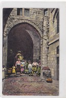 JERUSALEM. VII STATION PORTE JUDICIAIRE. EBC. VOYAGEE. CIRCA 1909- BLEUP - Israël