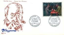 1961  Cézanne  Joueurs De Cartes  Yv 1321 - FDC