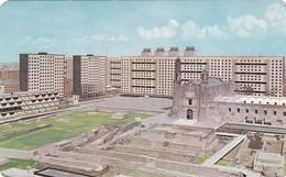 VISTA PANORAMICA DE LA PLAZA DE LAS 3 CULTURAS. TLATELOLCO, MEXICO. AMMEX ASOCIADOS. CIRCULEE TO ARGENTINE 1986 - BLEUP - Mexico