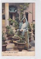 PATIO OF MEXICAN HOUSE.J.G. HATTON. CIRCA 1960s NON CIRCULEE - BLEUP - Mexico